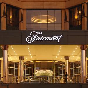 Fairmont Hotel Bedding By DOWNLITE