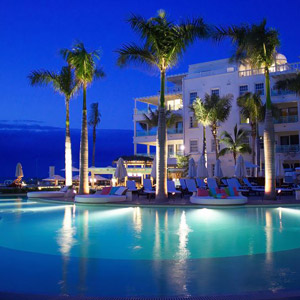 Regent Palms Resort Bedding By DOWNLITE