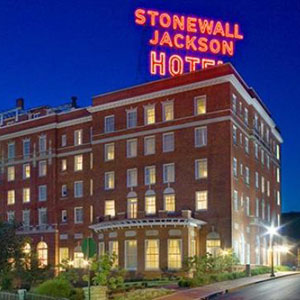 Stonewall Jackson Hotel Bedding by DOWNLITE