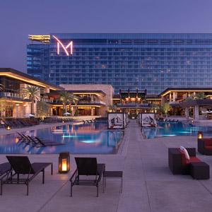 M Resort Hotel Bedding By DOWNLITE