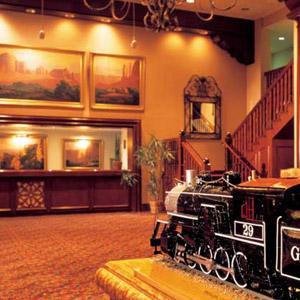 Grand Canyon Rail Hotel Bedding By DOWNLITE