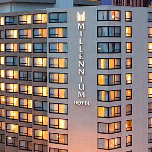 Millennium Hotels Bedding By DOWNLITE
