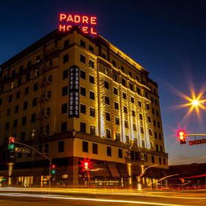 Padre Hotel Bedding By DOWNLITE