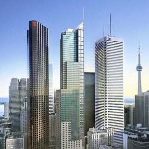 TRUMP Toronto Hotel Bedding By DOWNLITE