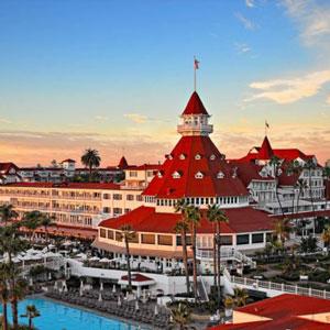Hotel Del Coronado Hotel Bedding By DOWNLITE